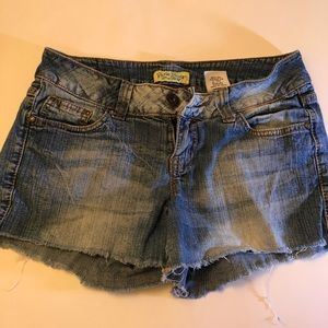 Paris Blues Denim Shorts